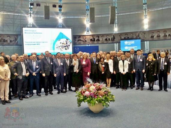 Veselības ministrs piedalās Pasaules Veselības organizācijas konferencē par veselību visas dzīves garumā