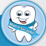 """Noslēgusies kampaņa """"Man ir tīri zobi!"""""""