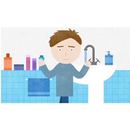 Sagatavota animācijas filma bērniem  par roku higiēnas ievērošanu