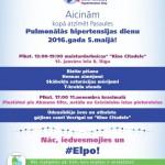 5. maijā, atzīmēsim Pasaules Pulmonālās hipertensijas dienu.