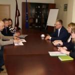 Veselības ministrs tiekas ar Ogres pašvaldības un slimnīcas pārstāvjiem