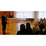 Veselības ministrs Dr.Guntis Belēvičs aicina skolēnus izvēlēties veselīgu un aktīvu dzīvesveidu