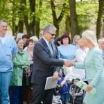 Veselības ministrs Dr.Guntis Belēvičs pateicas māsām par ieguldījumu veselības aprūpes nodrošināšanā