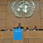 Pasaules Veselības asamblejā uzsver Latvijas pieredzi veselības veicināšanā