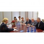 Veselības ministre Anda Čakša ar VADDA pārrunā aktuālos jautājumus veselības aprūpē