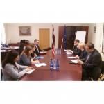 Veselības ministre tiekas ar ASV vēstnieci Latvijā