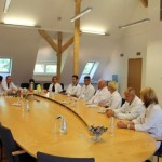 Klātienē iepazīstas ar Stradiņa slimnīcas jaunā korpusa būvniecību