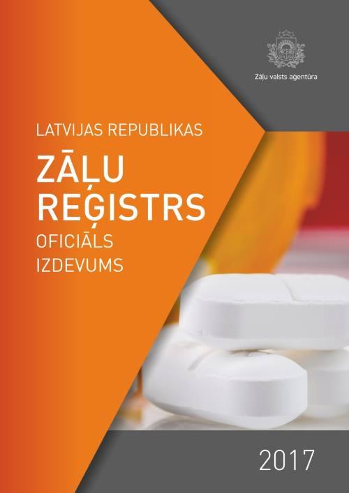 Izdots 2017. gada Latvijas Republikas Zāļu reģistrs