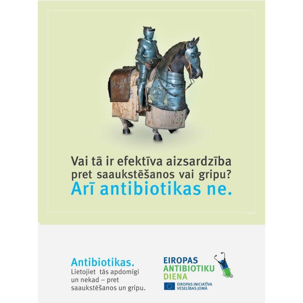 Zāļu valsts aģentūra Antibiotiku dienā aicina – rūpēsimies par antibiotiku iedarbību
