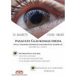 13. martā Glaukomas diena Stradiņa slimnīcā – bezmaksas acu spiediena pārbaude