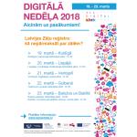 Digitālajā nedēļā Zāļu valsts aģentūra stāstīs par Latvijas Zāļu reģistru un informācijas meklēšanas iespējām