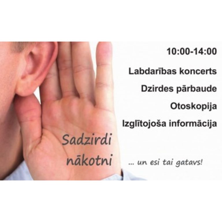 Sadzirdi nākotni – 3. martā Pasaules Dzirdes diena Stradiņa slimnīcā