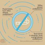 Aicinām Jūrmalas iedzīvotājus pieteikties bezmaksas smēķēšanas atmešanas nodarbībām