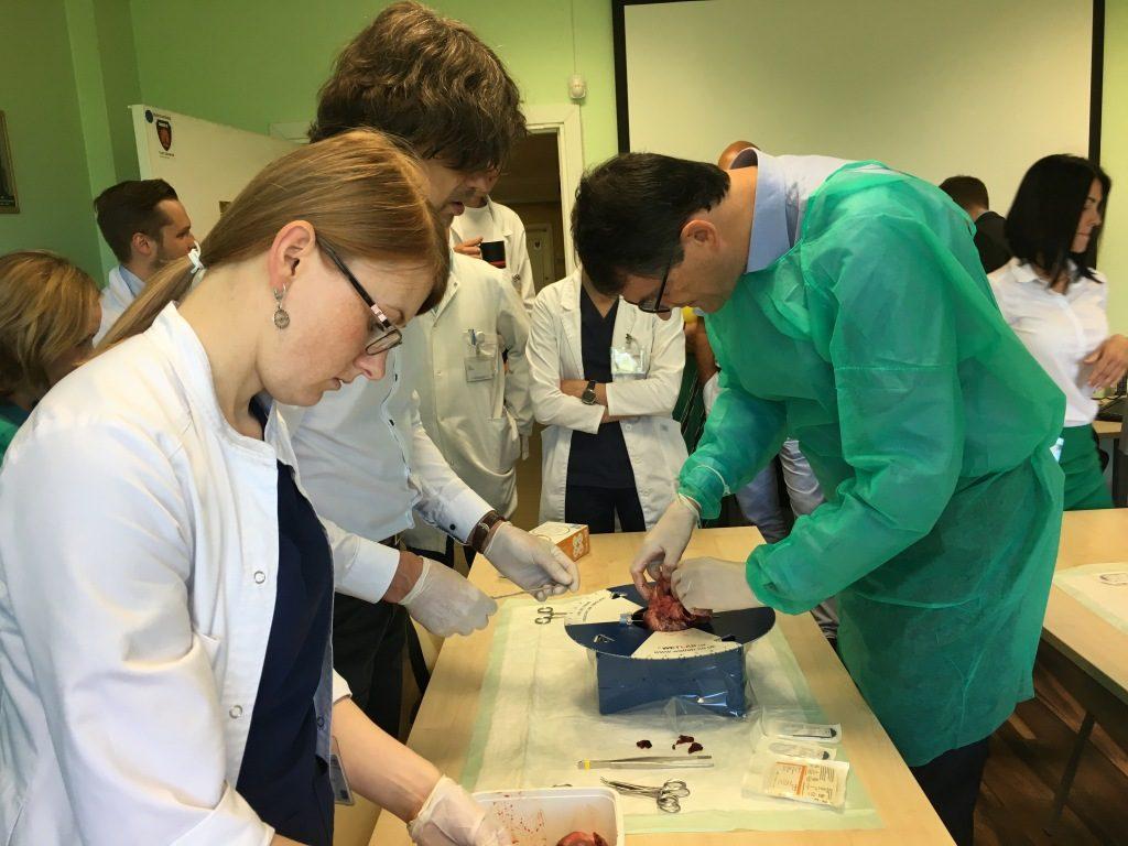 Stradiņos norisinās unikālas apmācības sirds mitrālā un trikuspidālā vārstuļa ķirurģiskai ārstēšanai