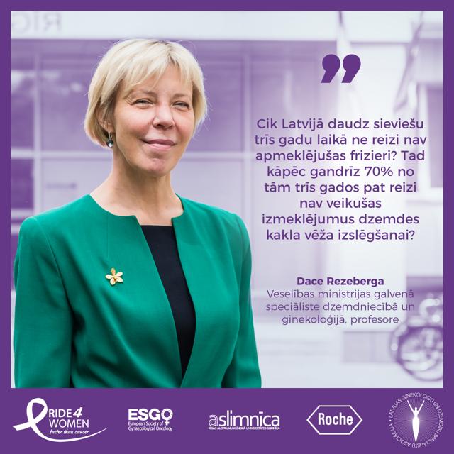 """Pretvēža kampaņa – velomaratons """"Ride 4 Women"""" šogad arī Latvijā"""
