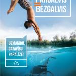 """Uzsāk kampaņu pret pārgalvību pie ūdens """"PĀRGALVIS=BEZGALVIS"""""""