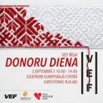 """Ikgadējā """"VEF Rīga"""" donoru diena"""