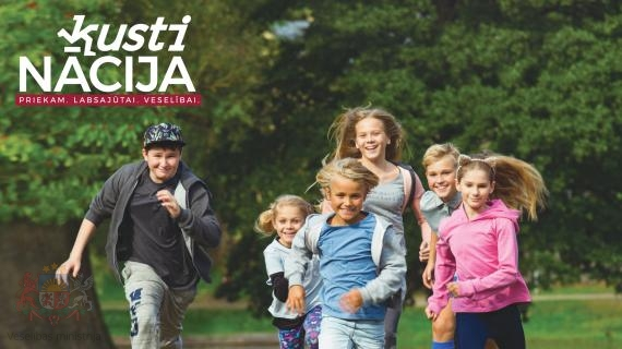 """Veselības ministrija dod startu vērienīgai kampaņai """"Kustinācija"""", mudinot sabiedrību vairāk kustēties"""